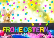 Easter decoration, Easter card, bokeh Stock Image