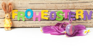 Easter decoration, easter egg Royalty Free Stock Images