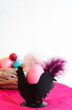 Easter Decoration Egg Cup Stock Photos