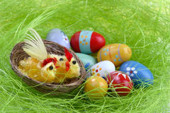 Easter Decoration Eggs Royalty Free Stock Image