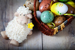 Easter decoration Royalty Free Stock Photos