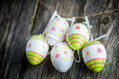 Easter decoration eggs Royalty Free Stock Photo