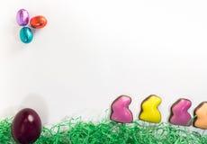 Easter eggs decoration stock photos
