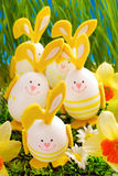 Easter decoration in grass Stock Photo