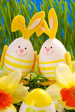 Easter decoration in grass Royalty Free Stock Photos
