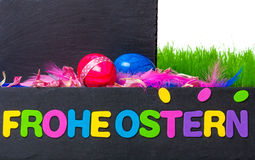 Easter decoration, Happy Easter Royalty Free Stock Photography
