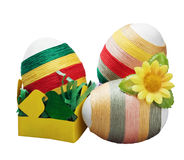 Easter decoration isolated Royalty Free Stock Images