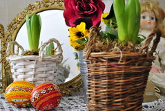 Easter decoration. Dekoracja wielkanocna Stock Photo