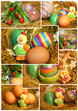 Easter decoration mix Royalty Free Stock Photo