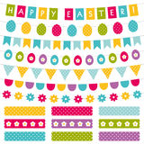 Easter decoration set Stock Photography