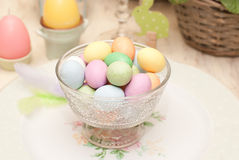 Easter. Decoration of the table Stock Photography
