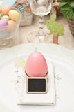 Easter. Decoration of the table Royalty Free Stock Photography