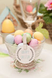 Easter. Decoration of the table Royalty Free Stock Images