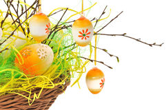Easter decorations Royalty Free Stock Photos