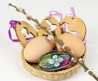 Easter decorations Royalty Free Stock Photo