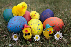 Easter decorations Stock Images