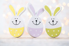 Easter decorations on a beautiful background. Greeting Card. Royalty Free Stock Image