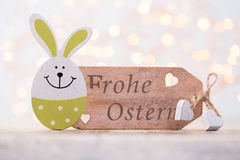 Easter decorations on a beautiful background. Greeting Card. Royalty Free Stock Photography