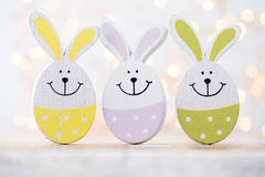 Easter decorations on a beautiful background. Greeting Card. Stock Image