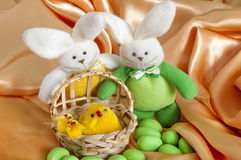 A Easter decorations Royalty Free Stock Photography