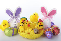 Easter decorations Stock Photos