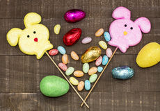 Easter Decorations Display Stock Photography