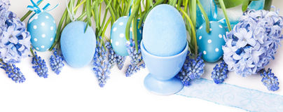 Easter decorations, Easter eggs Royalty Free Stock Image