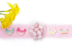 Easter decorations, Easter eggs Royalty Free Stock Photo