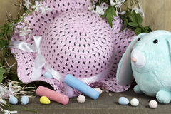 Easter Decorations for Home Decor for the Spring Holiday Royalty Free Stock Photo