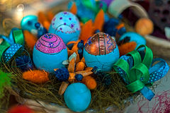 Easter Decorations 20 Stock Photo