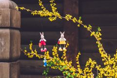 Easter Decorations in Potsdam Stock Images