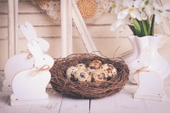 Easter decorations Royalty Free Stock Image