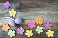 Easter Decorations on Table Stock Images