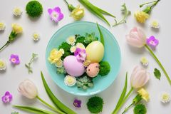 Easter decoration concept Stock Image