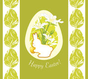 Easter decorative background for design Royalty Free Stock Photos