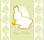 Easter decorative background for wrapping stock images