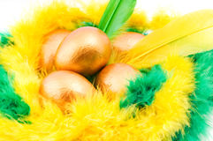Easter decorative composition Royalty Free Stock Photo