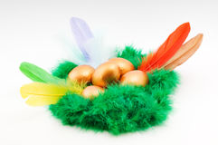 Easter decorative composition Stock Photography