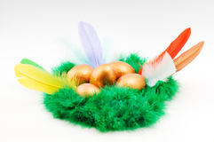 Easter decorative composition Stock Images