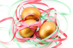 Easter decorative composition Stock Image
