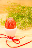 Easter decorative egg Stock Photo