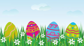 Easter  decorative eggs Stock Image