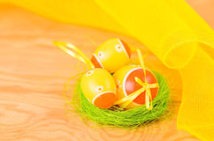 Easter decorative eggs Royalty Free Stock Image