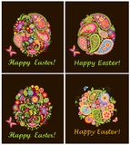 Easter decorative eggs Stock Photography
