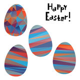 Easter decorative elements Stock Photos