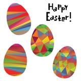 Easter decorative elements Stock Photos