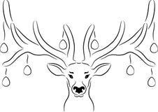 Easter Deer Royalty Free Stock Photo