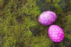 easter dekoracyjni jajka zdjęcie stock