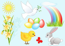 Easter design element. Stock Images