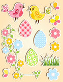 Easter design element. Royalty Free Stock Images